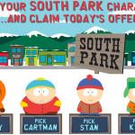 CasinoEuro South Park Free Spins,Reloads & Cash Backs all October