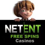 NetEnt free spins casinos 2018 full list