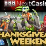 Win Wild Turkey Free Spins This Thanksgiving Weekend at Next Casino
