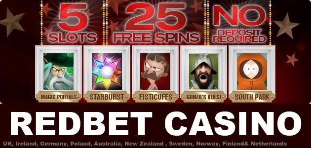 Redbet casino free spins