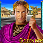 Golden Rome slot by Leander Games live at Tropezia Palace