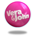 33 Starburst Free Spins + 100% bonus  up to €/£/$500 as Vera and John's Casino turn 3