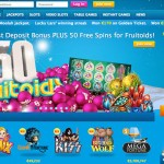 You'll love playing at Vera and John | 100% bonus up to €500 + 50 Free Spins on Fruitoids