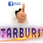 A simple Facebook LIKE could get you 50 Starburst Free Spins