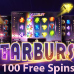 Carat Casino aligns the stars with 100 Starburst free spins offer. UK ONLY!