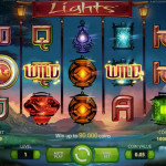 New NetEnt Slot Alert! Lights Slot Free Spins available 22nd May 2014