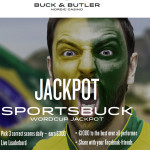 SportsBuck now live.Get Brazil World Cup 2014 free bets