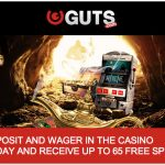 [TODAY ONLY] 65 Free Spins on Wishmaster Slot (No wagering) at Guts Casino