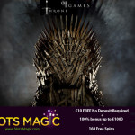 160 SlotsMagic Free Spins + €10 FREE No Deposit Required