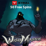Genie grants Wishes – 50 Wishmaster Slot Free Spins at Jetbull Casino