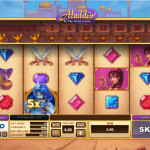 10 Aladdin & The Wild Genie Free Spins No Deposit Required available at BGO Casino