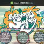 Surfs Up! CasinoLuck FreeSpins & Bonus Week