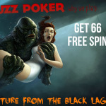 20 Bucks can get you 66 Free Spins on Elements, Jack and the beanstalk or Creature from the Black Lagoon