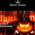 Get a week of Free Spins in Royal Panda Casinos Halloween FreeSpins Extravaganza