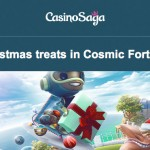 CasinoSaga – 130 Cosmic Fortune Free Spins this weekend + withdrawals paid in 2 hours or less