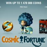NetEnt's New Cosmic Fortune Slot is now Live at Betsafe Casino