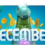 Lucky Dino's Decembersaurus Promo means Christmas Free Spins GALORE Everyday of December