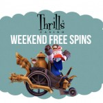 Make a Deposit at Thrills Casino this weekend and receive free spins with no wagering requirements