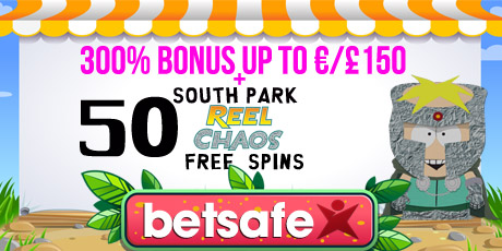 gday casino south park reel chaos