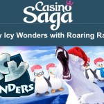 CasinoSaga – Get up to 120 Icy Wonders Free Spins EVERYDAY for the next 4 Days