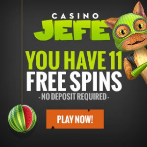 CasinoJEFE free spins
