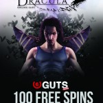 Earn 100 Dracula Free Spins with Guts Casino