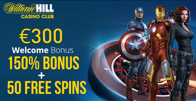William hill casino 120 free spins