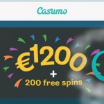 20 No Deposit Free Spins Norway, Sweden, Finland at Casumo + a 200% Bonus & 180 Free Spins Welcome Bonus