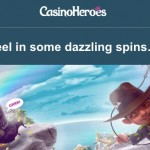 125 Dazzle Me Free Spins now available at CasinoHeroes