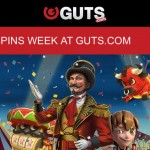 Guts Casino Free Spins Festival gives 25 REAL MONEY freespins EVERYDAY (4th-10th August)