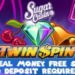10 No Deposit Real Money Free Spins + a 100% Bonus & 55 Starburst free spins at Sugar Casino this October