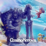 150 Hooks Heroes freespins  available EVERYDAY at CasinoHeroes