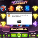 New No Deposit Free Spins offer at JackpotLuck Casino: Get 25 Starburst Free Spins just for signing up