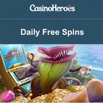 50 Daily Free Spins INSTANTLY on the Kings of Slots Slot Machine at CasinoHeroes all weekend