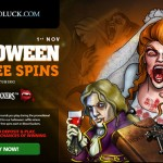 10 Players can win 666 BloodSuckers Slot Halloween Free Spins at CasinoLuck
