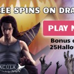 25 Halloween FreeSpins on the Dracula Slot available at PrimeSlots + 10 FreeSpins No Deposit Needed & 100 FreeSpins on first deposit
