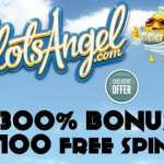 New Casino Bonus Codes for 300% Bonus & 100 Free Spins on the Las Cucas Locas Slot at Slots Angel Casino