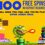 100 Gonzos Quest Free Spins NO DEPOSIT REQUIRED UK Only at Spin Genie