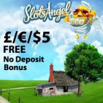 This months EXCLUSIVE £/€/$5 FREE November 2015 No Deposit Bonus is courtesy of Slots Angel Casino