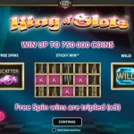 New REVAMPED King of Slots Slot by NetEnt now at Casino Cruise