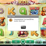 20 Koi Princess FreeSpins NO DEPOSIT REQUIRED at Tivoli Casino