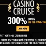 Sveriges bästa NetEnt casino | 300% bonus på Casino Cruise