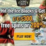 Choose between 4 Futuristic Bonus Offers in the Casino Cruise Christmas Calendar 2015