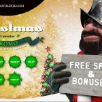 Week 2: Casino Xmas Bonus & Free Spins Advent Calendar at CasinoLuck | 6th-15th December 2015