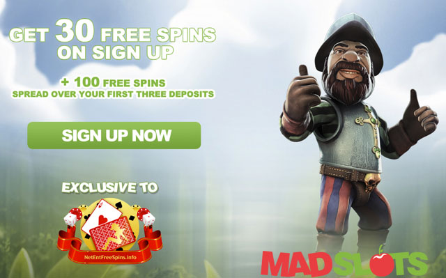 Mad Slots Casino Exclusive 30 Free Spins No Deposit Needed