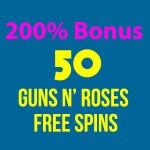 200% Bonus & 50 Guns N' Roses Slot Free Spins at 21Prive Casino, IstanBul Casino, G'Day Casino