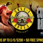 EXCLUSIVE 200% Bonus + 50 Guns N Roses Slot Free Spins at Diamond7 Casino this weekend only