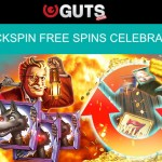 Get 35 QuickSpin Free Spins EVERYDAY at Guts Casino