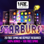20 Free Spins No Deposit Required & use our New WhiteBet Casino Bonus Code for a 150% Bonus + 100 free spins