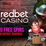 2016 RedBet Casino Bonus Code for 20 No Deposit Free Spins + 150% Bonus & 100 Free Spins